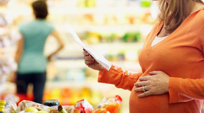 بارداری--غذایی