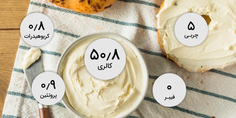همه چیز در مورد ارزش غذایی پنیر خامه ای